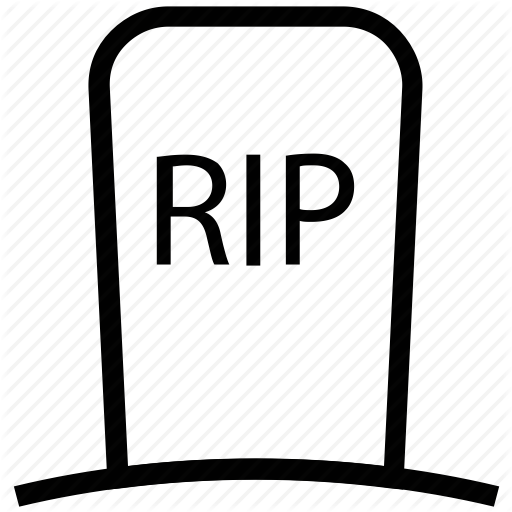 banner transparent download Gravestone Clipart rest in peace