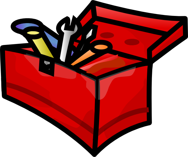 freeuse Small Tool Box Clip Art at Clker