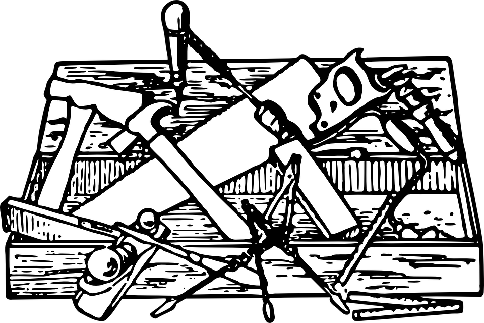 clip transparent stock PNG Toolbox Black And White Transparent Toolbox Black And White