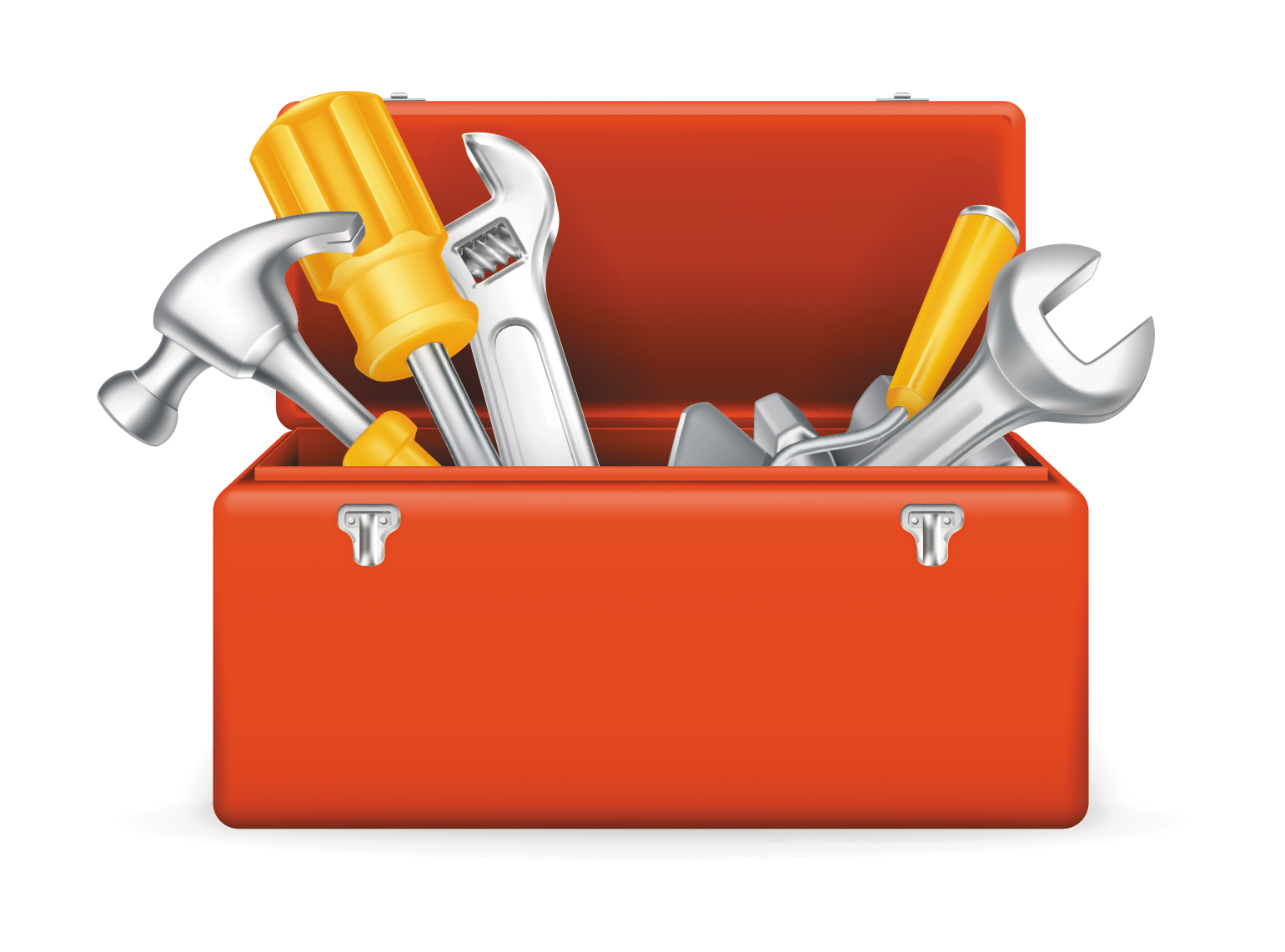 clipart black and white library Toolbox clipart construction tool. Free builder tools cliparts