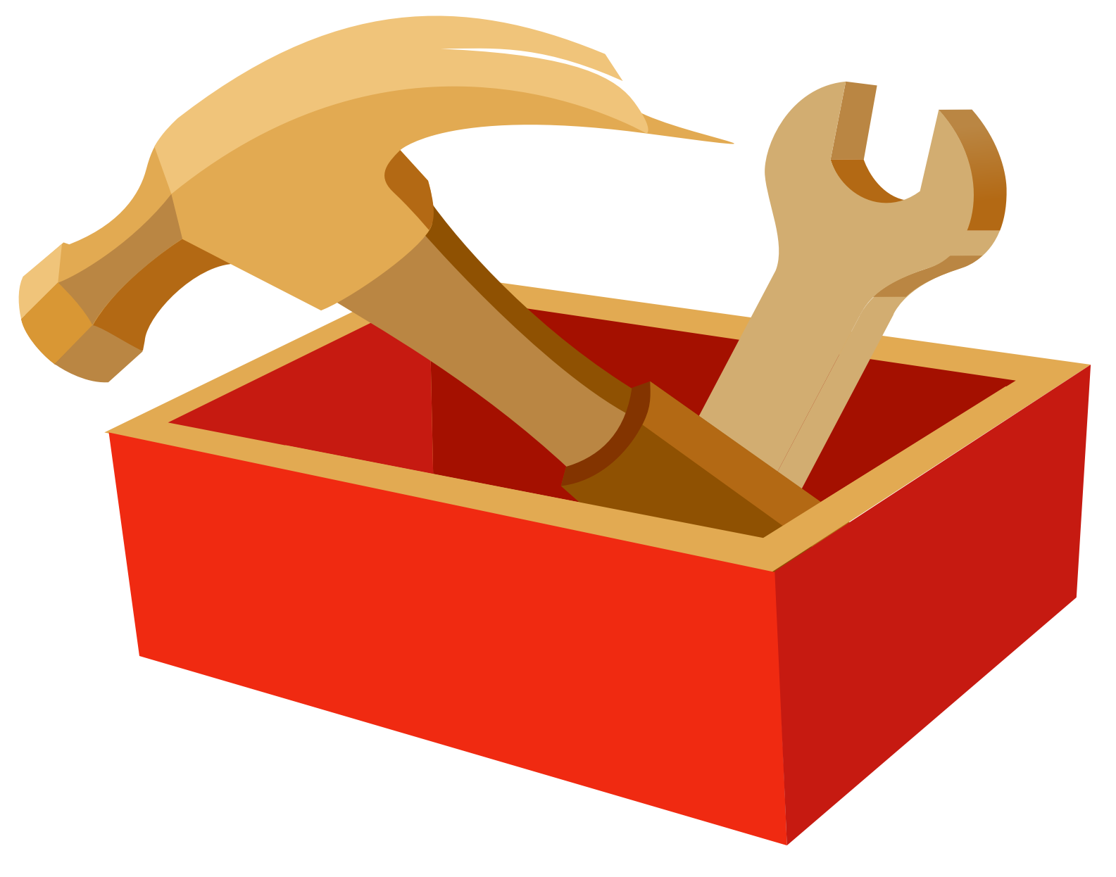 clip freeuse download Tool Box Clipart