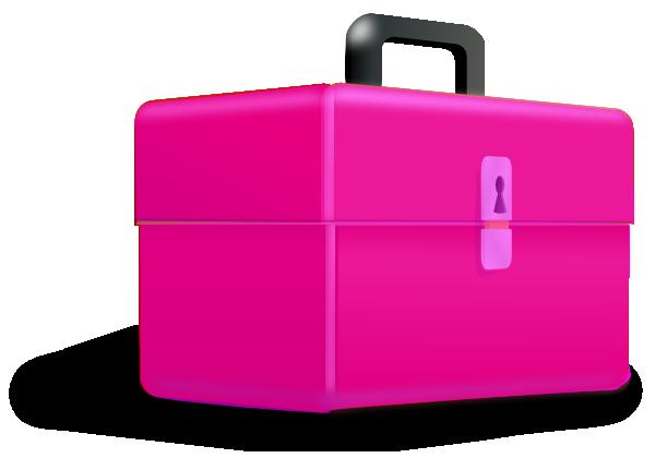 stock Pink Toolbox Clip Art at Clker