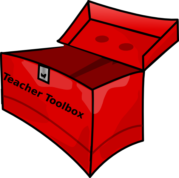 clipart black and white library Teacher Toolbox Clip Art at Clker