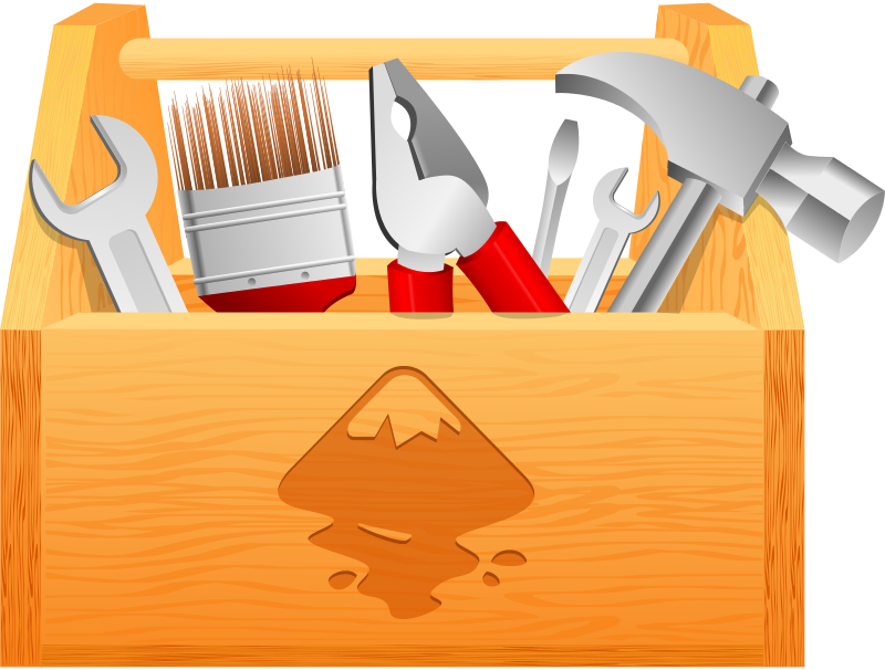 clip art royalty free stock Wood clipart toolbox