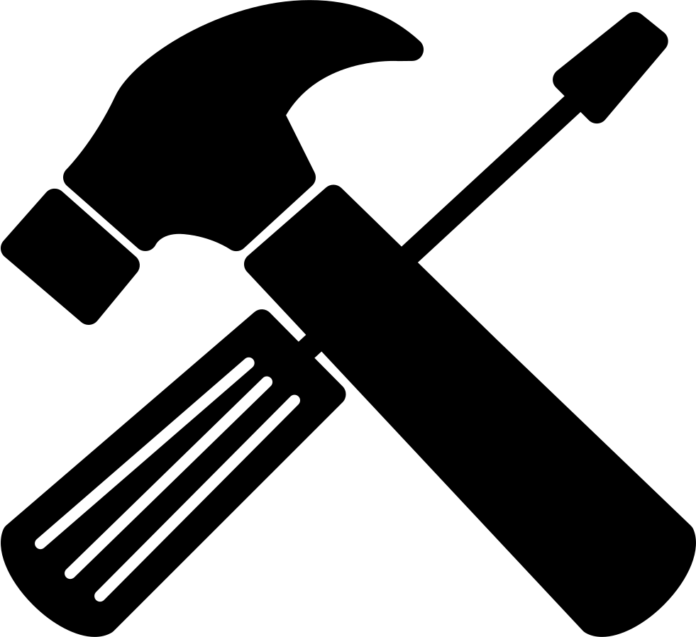 graphic black and white stock Repair Tools Cross Svg Png Icon Free Download