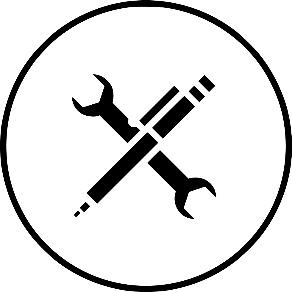 vector royalty free download Tools svg maintenance. Services wrench setting pen
