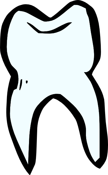 banner transparent stock Vector dental tooth outline. Teeth clipart black and