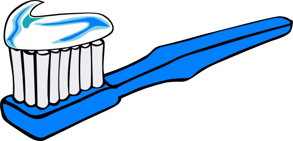 png library library Blue Toothbrush Clip Art at Clker