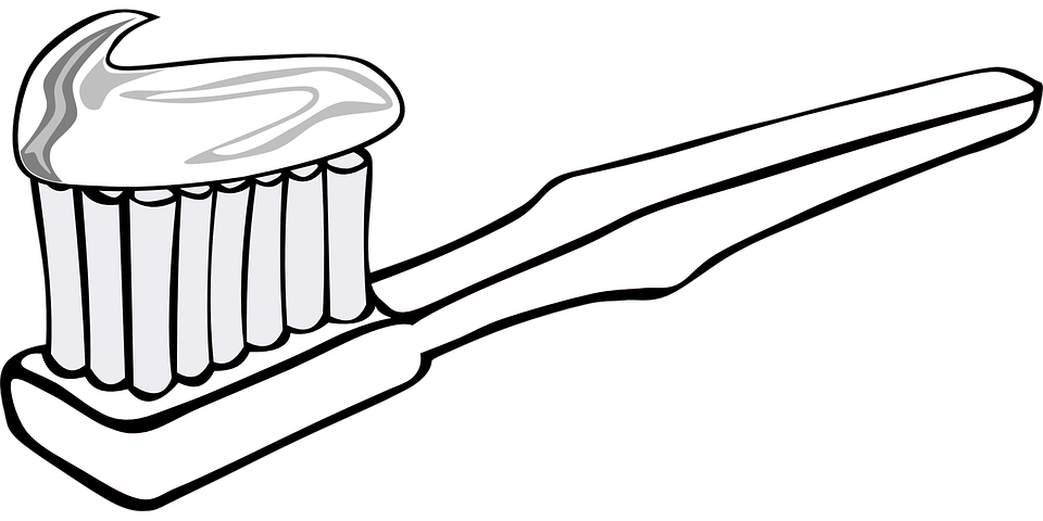 free library Brush clipart mouth. Toothbrush basic free on