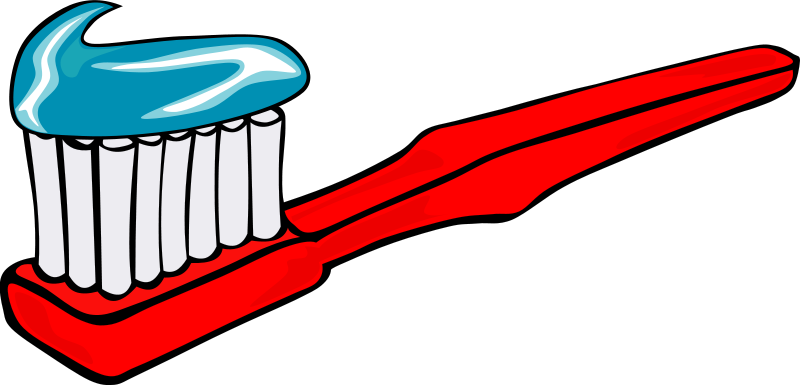 free stock Toothpaste drawing simple.  clipart coloring page
