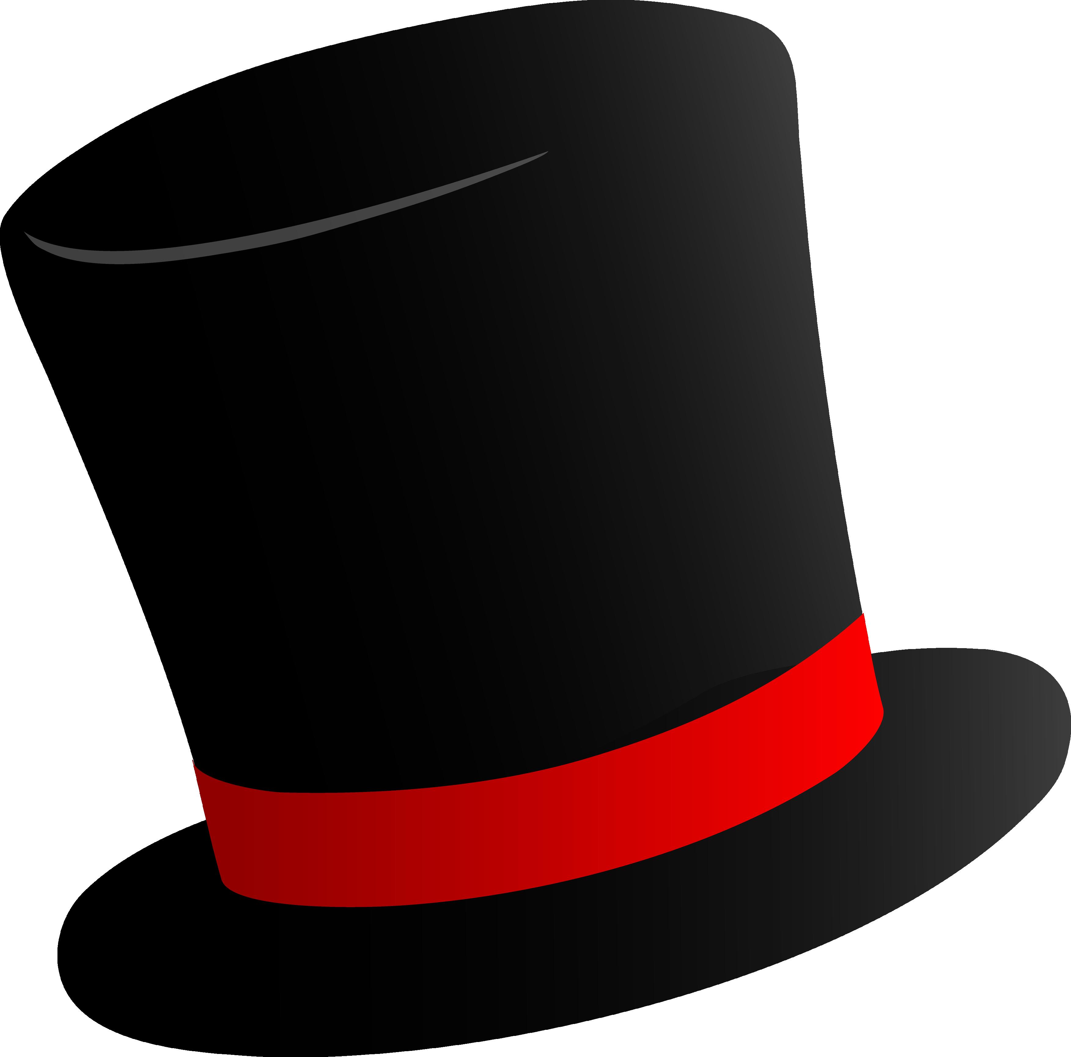 image free stock Black Top Hat PNG Image