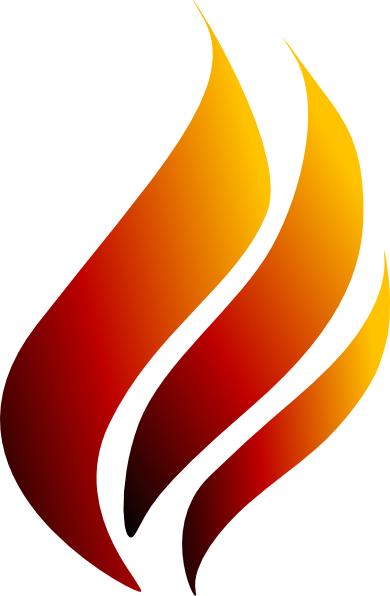 black and white Torch clipart. Of knowledge