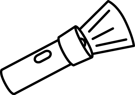 image library download Cartoon Flashlight Clipart