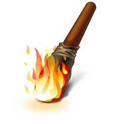 image freeuse Clip art graphics fspng. Torch clipart medieval