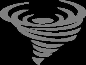 banner black and white Tornado cliparts
