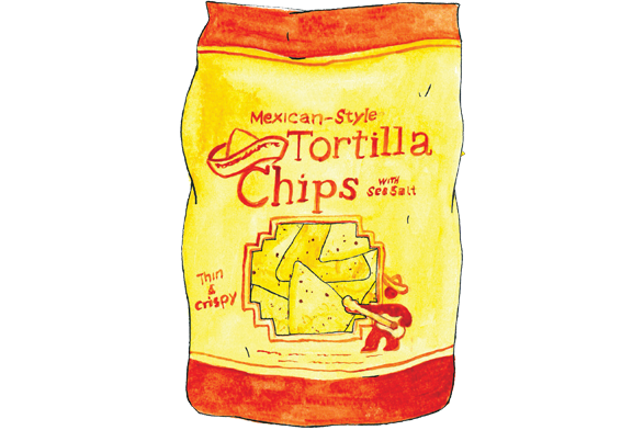 image transparent library Market District Tortilla Chips