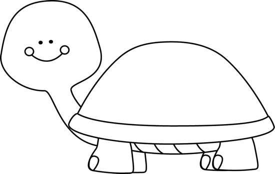 clip art library Tortoise black and white clipart. Blank turtle clip art