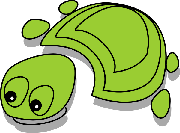 image library download Green Tortoise Cartoon Clip Art at Clker