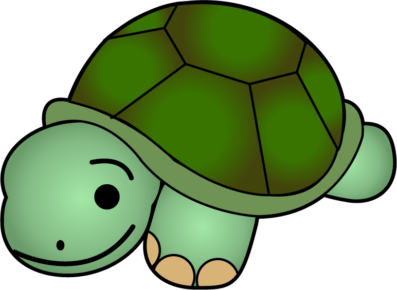svg black and white stock cute tortoise clipart #61949092