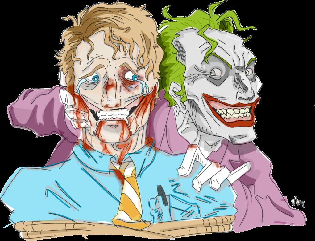 image stock The Joker torturing a guy by anikavandermeulen on DeviantArt