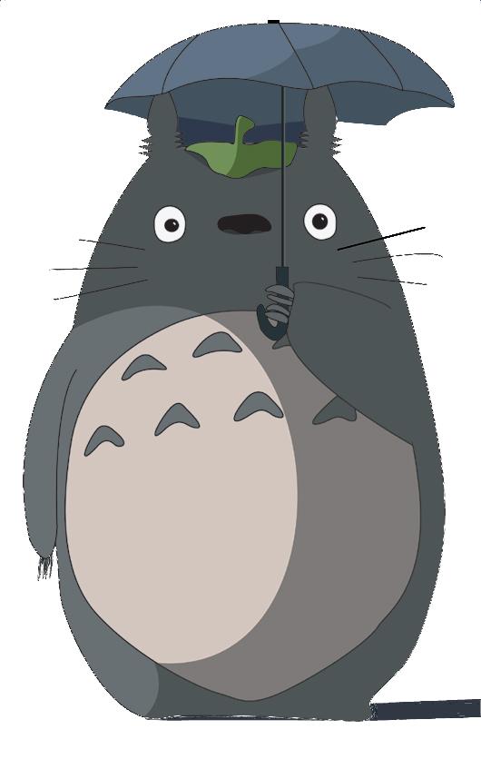 clip freeuse Drawing running miyazaki. Totoro outline google search