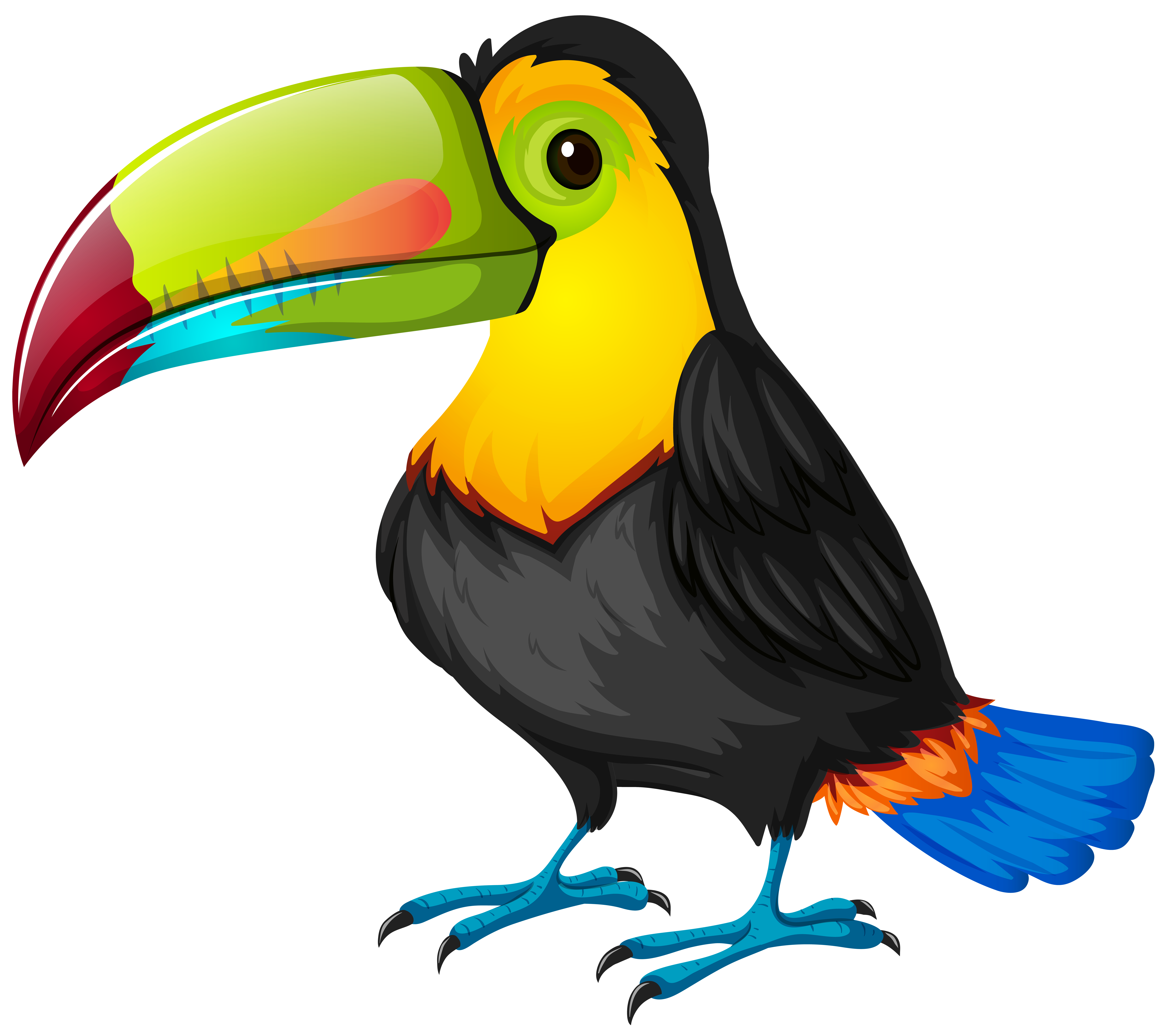 png black and white library Face free on dumielauxepices. Toucan clipart