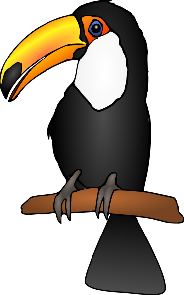 graphic library stock Toucan clipart. Clip art at clker