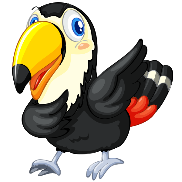 graphic Cartoon images are free. Toucan clipart
