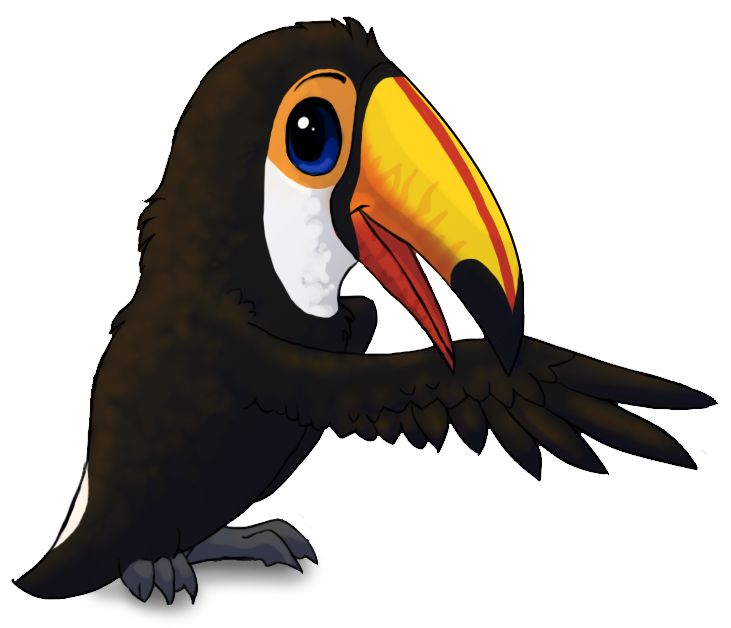 black and white download Cartoon toucan toco toucan by starrypoke on deviantart