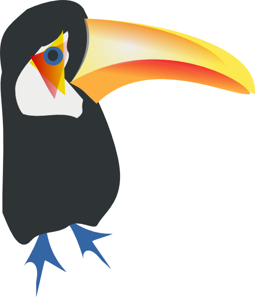 picture library stock Toco clip art at. Toucan clipart eagle
