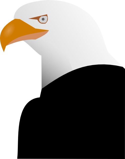 jpg black and white library Toucan clipart eagle. I royalty free public