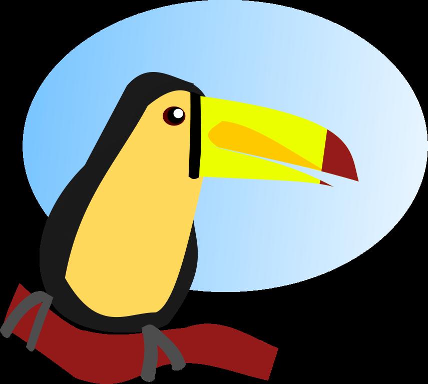 clipart transparent toucan clipart svg #85050220