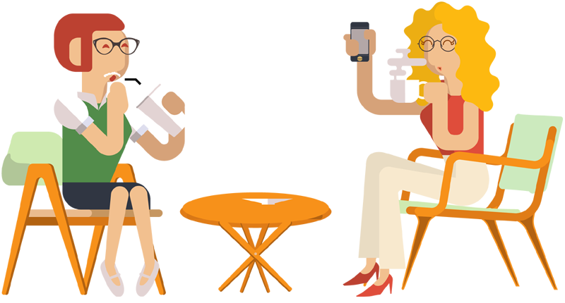clipart free library Travel portfolio categories designshop. Person drinking coffee clipart