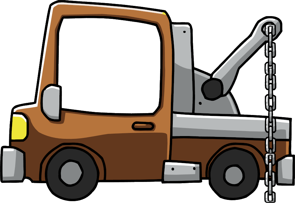image royalty free library Tow clipart. Image truck png scribblenauts