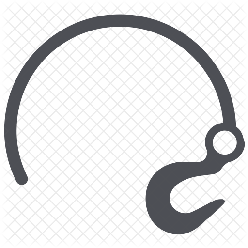 svg royalty free Towing Hook Icon