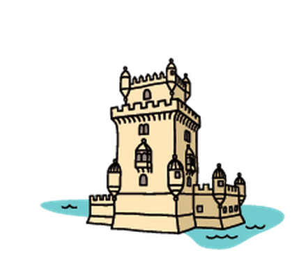 jpg free library Landmark free on dumielauxepices. Tower clipart