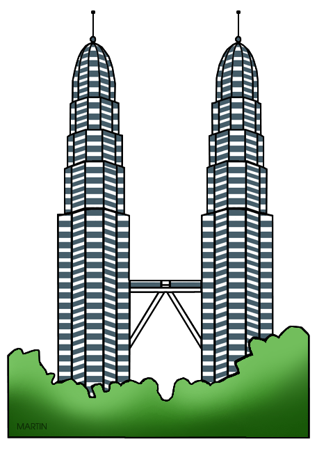 freeuse download Tower clipart. Kuala lumpur free on