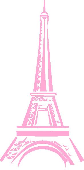 clip art library Pink Eiffel Tower Clip Art