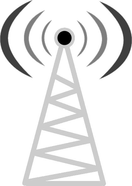 vector transparent download Telecom Tower Clip Art at Clker
