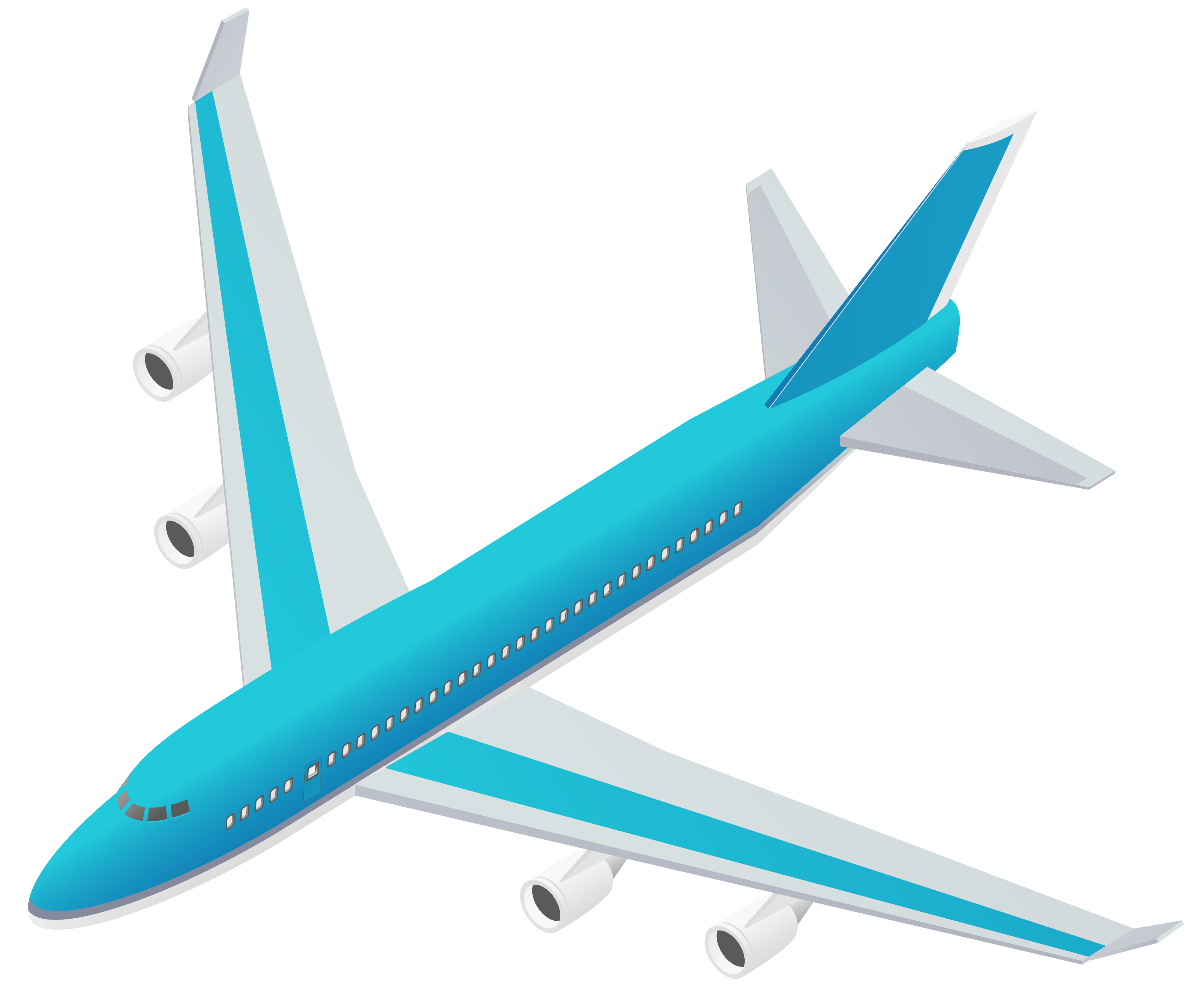 clipart transparent library Vector aviation airplane clipart. Blue transparent png gallery