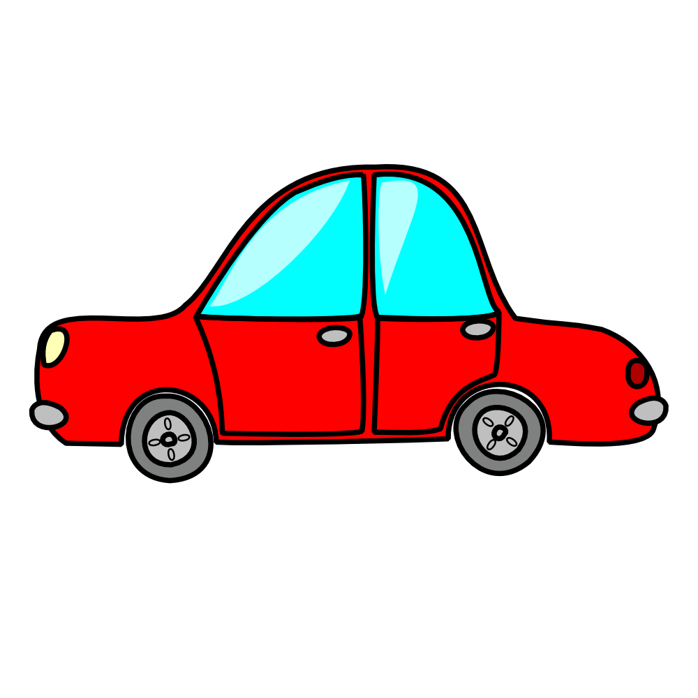 graphic Toy Car Clipart