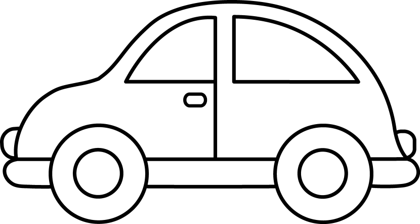 transparent stock Cars clipart black and white.  collection of toys
