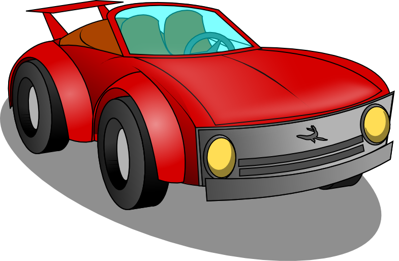 png free stock Toy Race Car Clipart