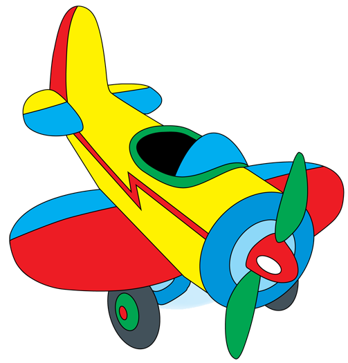 clipart free library biplane clipart toy plane #24127578