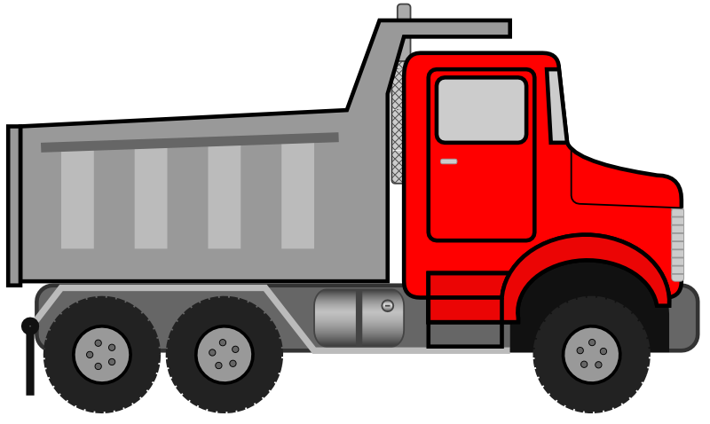 vector freeuse download Toy Truck Clip Art