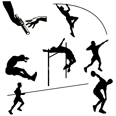 royalty free stock Track And Field Events PNG Transparent Track And Field Events