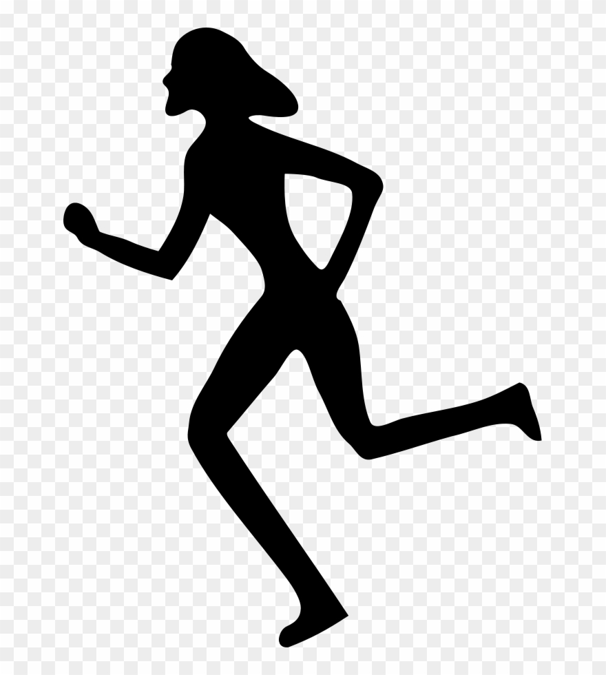 image freeuse Track and field running clipart. Runner free sports clip