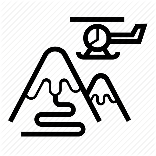 clip library download Track vector ski. Winter sport outline by