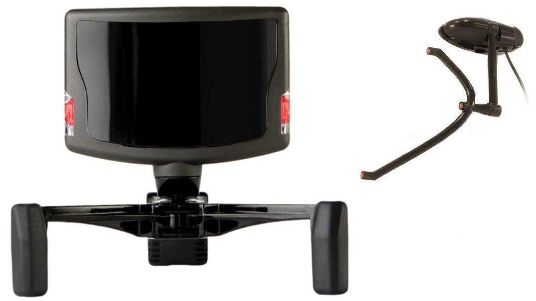 picture transparent Optical head tracking system. Trackir clip.