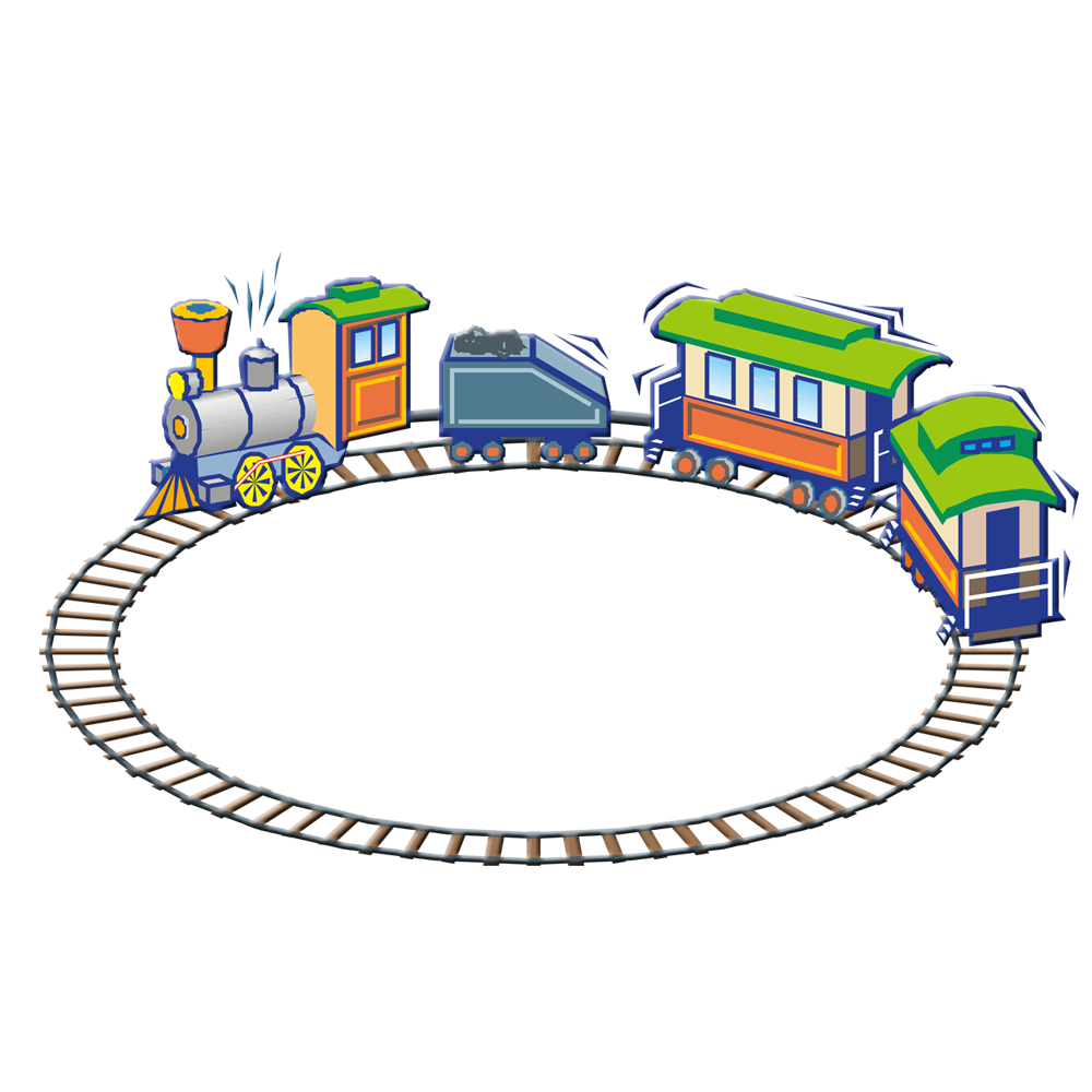 png free stock Track transparent free . Tracks clipart toy train